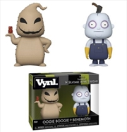 Nightmare Before Christmas - Oogie Boogie And Behemoth Vynl | Merchandise