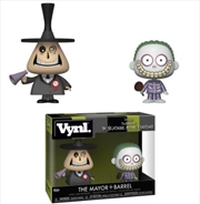 Nightmare Before Christmas - Mayor And Barrel Vynl | Merchandise