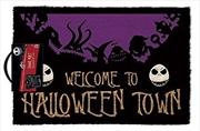 Nightmare Before Christmas - Welcome To Halloween Town Doormat