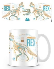 Jurassic World Fallen Kingdom - T. Rex Stats Mug