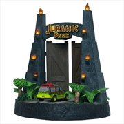 Jurassic Park - Park Gates Sculpture | Collectable
