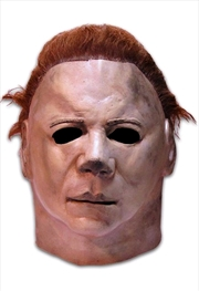 Halloween 2 - Myers Deluxe Mask Adult | Apparel