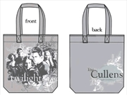 Twilight - Tote Bag Bella & Cullens (Vector Grey)