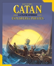 Catan - Explorers & Pirates 5-6 Player Board Game Expansion | Merchandise