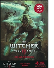 The Witcher 3: The Wild Hunt - Ciri & the Wolves 1000 piece Puzzle