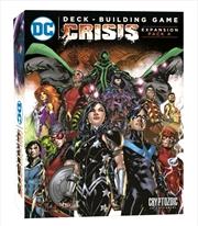 DC Comics - Deck-Building Game Crisis 4 Expansion   Merchandise