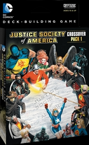 DC Comics - Deck-Building Game Crossover Pack JSA   Merchandise