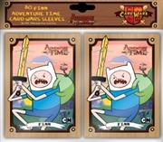 Adventure Time - Card Wars Finn Card Sleeves | Merchandise
