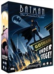 Batman: The Animated Series - Gotham Under Siege Board Game