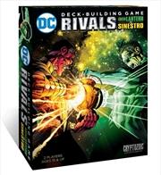 DC Comics - Deck-Building G Rivals Green Lantern vs Sinestro