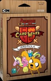 Adventure Time - Card Wars Hero Pack #1 | Merchandise