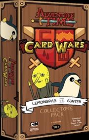 Adventure Time - Card Wars Lemongrab vs Gunter Deck | Merchandise