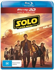 Solo - A Star Wars Story | 3D + 2D Blu-ray - Bonus Disc + Poster