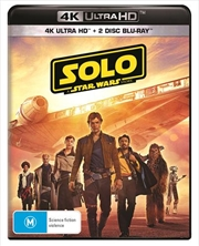 Solo - A Star Wars Story | Blu-ray + UHD - Bonus Disc + Poster