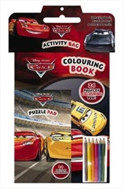 DIsney Pixar Cars: Activity Bag | Paperback Book