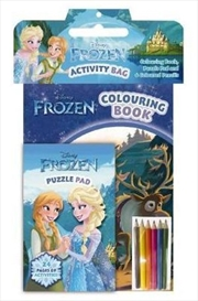 Disney Frozen: Activity Bag | Paperback Book