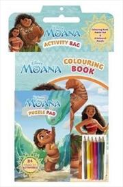 Disney Moana: Activity Bag | Paperback Book