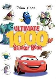 Disney Pixar: Ultimate 1000 Sticker Book | Paperback Book