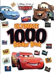 Disney Pixar Cars: Ultimate 1000 Sticker Book | Paperback Book