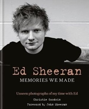 Ed Sheeran: Memories we made | Hardback Book