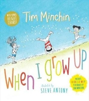 When I Grow Up with Height Chart | Hardback Book