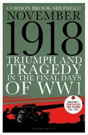 Triumph and Tragedy in the Final Days of WW1 - 1 November 1918