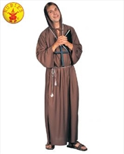 Monk Robe Brown Size Std | Apparel