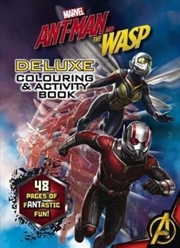 Marvel Ant-Man & the Wasp Deluxe Colouring & Activity Book
