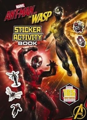 Marvel Ant-Man & The Wasp Sticker Activity Book