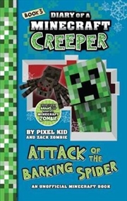 Diary of a Minecraft Creeper #3 : Attack of the Barking Spider