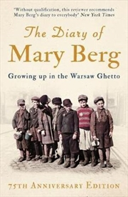 Diary Of Mary Berg   Paperback Book