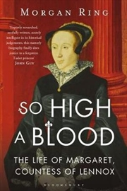 So High a Blood   Paperback Book