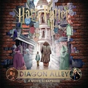 Harry Potter - Diagon Alley: A Movie Scrapbook | Hardback Book