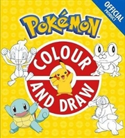 Pokemon Colour And Draw | Paperback Book