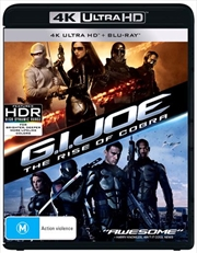 G.I. Joe - The Rise Of Cobra | Blu-ray + UHD
