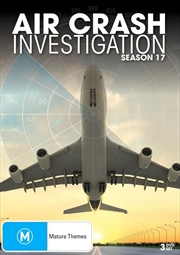 Air Crash Investigations - Season 17 | DVD