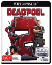 Deadpool 2 | UHD (SANITY EXCLUSIVE BOOK)