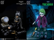 Batman: The Dark Knight - Batman & Joker 2-Pack Hybrid Metal Figuration Box Set | Merchandise