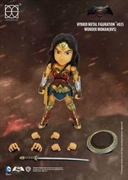 Batman v Superman: Dawn of Justice - Wonder Woman Hybrid Metal Figuration