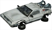Back to the Future 2 - Frozen Hover Time Machine Vehicle | Collectable
