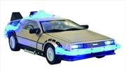 Back to the Future - Delorean 1:18 Time Machine Mark 1 Car
