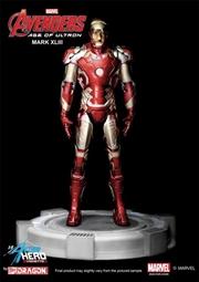 Avengers 2: Age of Ultron - Mark 43 with Tony Stark Head 1:9 Vignette | Merchandise
