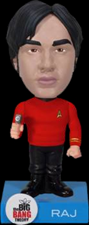 The Big Bang Theory - Raj Star Trek Wacky Wobbler