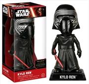Star Wars - Kylo Ren Unhooded Episode VII The Force Awakens Wacky Wobbler | Merchandise