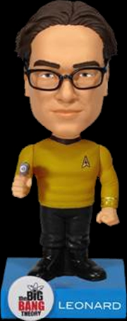 The Big Bang Theory - Leonard Star Trek Wacky Wobbler