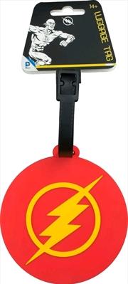 The Flash - Logo Luggage Tag