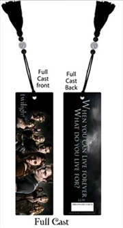 Twilight - Bookmark Full Cast | Merchandise