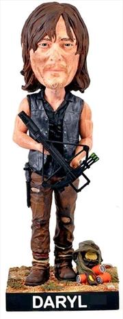 The Walking Dead - Daryl Resin Bobble Head | Merchandise