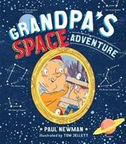 Grandpa's Space Adventure | Hardback Book
