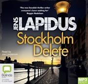 Stockholm Delete   Audio Book